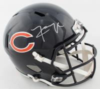 Khalil Mack Signed Bears Full-Size Speed Helmet (Beckett COA) at PristineAuction.com