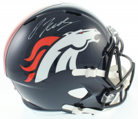Jerry Jeudy Signed Broncos Full-Size Speed Helmet (Beckett COA) at PristineAuction.com