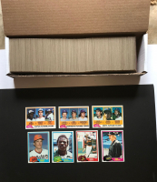 1981 Topps Complete Set of (726) Baseball Cards with #261 Rickey Henderson, #240 Nolan Ryan, #315 Kirk Gibson, #254 Ozzie Smith, #302 Dodgers Future Stars, #259 Mets Future Stars, #479 Expos Future Stars at PristineAuction.com