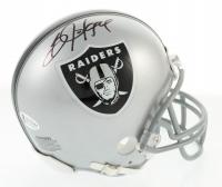 Bo Jackson Signed Raiders Mini Helmet (Beckett COA) at PristineAuction.com