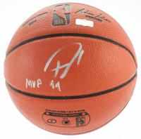 "Giannis Antetounmpo Signed NBA Game Ball Series Basketball Inscribed ""MVP 19"" (Radtke COA) at PristineAuction.com"