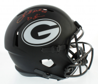 "Herschel Walker Signed Georgia Bulldogs Full-Size Eclipse Alternate Speed Helmet Inscribed ""82 Heisman"" (Beckett COA) at PristineAuction.com"