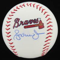 Andruw Jones Signed OML Braves Logo Baseball (JSA COA) at PristineAuction.com