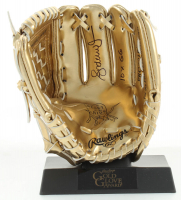 "Andruw Jones Signed Rawlings Mini Gold Glove Inscribed ""10x GG"" (JSA COA) at PristineAuction.com"