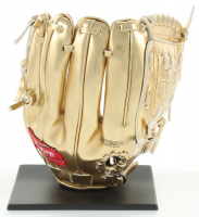 """Andruw Jones Signed Rawlings Mini Gold Glove Inscribed """"10x GG"""" (JSA COA) at PristineAuction.com"""