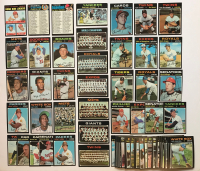 Lot of (82) 1971 Topps Baseball Cards with #5 Thurman Munson, #180 Al Kaline, #1 Baltimore Orioles Team Card at PristineAuction.com