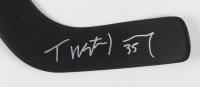 Tristan Jarry Signed Penguins Logo Mini Hockey Stick (ReichPM COA) at PristineAuction.com