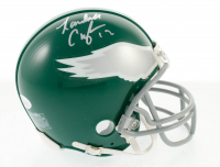 Randall Cunningham Signed Eagles Mini Helmet (JSA COA) at PristineAuction.com