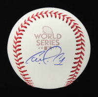 Carlos Correa Signed Official 2017 World Series Baseball (Beckett COA) at PristineAuction.com