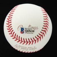 Carlos Correa Signed Official 2017 World Series Baseball (Beckett COA) at PristineAuction.com