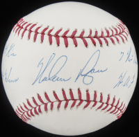 Nolan Ryan Signed OML Baseball with (4) Inscriptions (PSA Hologram & Nolan Ryan Hologram) at PristineAuction.com