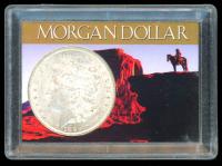 1896 Morgan Silver Dollar In Case at PristineAuction.com