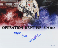 """Robert J. O'Neill Signed """"Operation Neptune Spear"""" 16x20 Photo Inscribed """"Never Quit!"""" (PSA COA) at PristineAuction.com"""