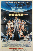 "Richard Kiel Signed ""Moonraker"" 27x41 Poster Inscribed ""Nice Meeting You In D.C."" & ""Jaws 12/27/92"" (JSA COA) at PristineAuction.com"
