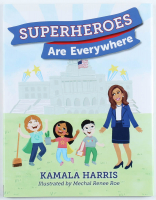 "Kamala Harris Signed ""Superheroes Are Everywhere"" Hardcover Book (PSA COA) at PristineAuction.com"