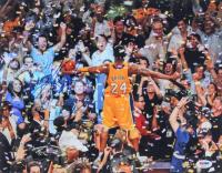 Kobe Bryant Signed Lakers 11x14 Photo (PSA LOA) at PristineAuction.com