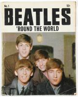 "1964 ""The Beatles 'Round The World"" #1 Original Magazine at PristineAuction.com"