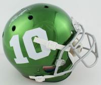 DeSean Jackson Signed Full-Size Authentic On-Field Chrome Helmet (JSA COA) at PristineAuction.com
