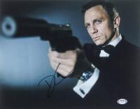 "Daniel Craig Signed ""007"" 11x14 Photo (PSA COA) at PristineAuction.com"