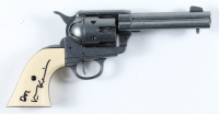 "Val Kilmer Signed ""Tombstone"" Replica Revolver Inscribed ""Doc"" (Beckett COA) at PristineAuction.com"