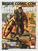 """Tom Hardy Signed 2014 """"Entertainment Weekly"""" Magazine (JSA COA) at PristineAuction.com"""