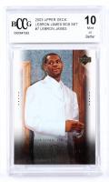 LeBron James 2003 Upper Deck LeBron James Box Set #7 High School Superstar (BCCG 10) at PristineAuction.com