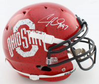Cameron Heyward Signed Ohio State Buckeyes Full-Size Authentic On-Field Helmet (Beckett COA) at PristineAuction.com