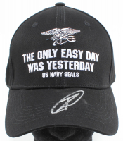"Rob O'Neill Signed ""The Only Easy Day Was Yesterday"" Navy Seals Adjustable Hat (PSA COA) at PristineAuction.com"