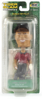 Tiger Woods Bobblehead With Sealed Upper Deck Trading Card at PristineAuction.com