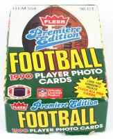 1990 Fleer Football Wax Box of (36) Packs at PristineAuction.com
