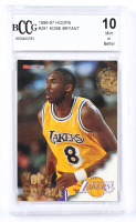 Kobe Bryant 1996-97 Hoops #28 RC (BCCG 10) at PristineAuction.com