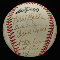 Cardinals ONL Baseball Multi-Signed by (19) with Johnny Mize, Bob Gibson, Enos Slaughter, Milt Pappas, Orlando Cepeda & (14) others (JSA ALOA) at PristineAuction.com