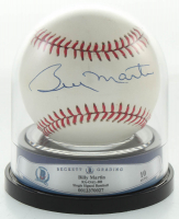 Billy Martin Signed OAL Baseball (BGS Encapsulated) at PristineAuction.com
