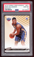 Zion Williamson 2019 Panini Cyber Monday Rookies #RC1 (PSA 10) at PristineAuction.com