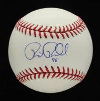 Rick Porcello Signed OML Baseball (PSA COA & JSA Hologram) at PristineAuction.com