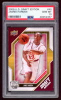 James Harden 2009-10 Upper Deck Draft Edition #40 RC (PSA 10) at PristineAuction.com