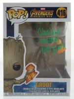 "Olaniyan Thurmon Signed ""Avengers: Infinity War"" #416 Groot Funko Pop! Vinyl Figure Inscribed ""Teen Groot"" (JSA COA) at PristineAuction.com"