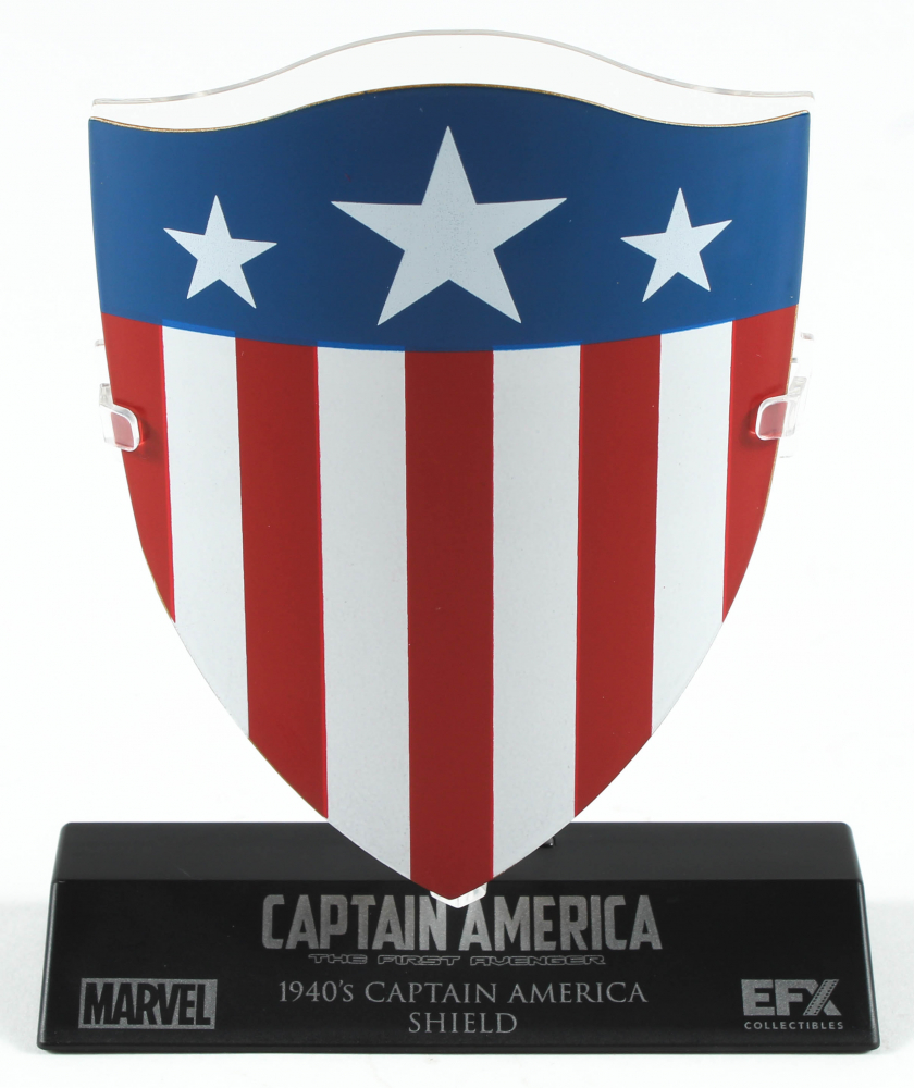 Captain America: The First Avenger Shield High Quality Metal Movie Prop Replica at PristineAuction.com