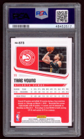 Trae Young 2018-19 Panini Chronicles #673 RC (PSA 10) at PristineAuction.com