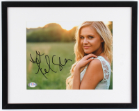 Kelsea Ballerini Signed 12x15 Custom Framed Photo Display (PSA COA) at PristineAuction.com