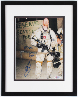 "Robert O'Neill Signed 12x15 Custom Framed Photo Display Inscribed ""Never Quit!"" (PSA LOA) at PristineAuction.com"