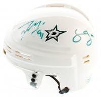 Tyler Seguin & Jamie Benn Signed Stars Mini Helmet (Seguin COA & Benn COA) at PristineAuction.com