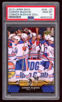 Connor McDavid 2015-16 Upper Deck Connor McDavid Collection #23 (PSA 10) at PristineAuction.com