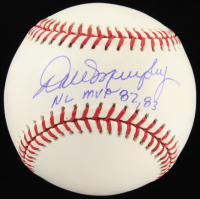 "Dale Murphy Signed ONL Baseball Inscribed ""NL MVP 82, 83"" (TriStar Hologram) at PristineAuction.com"