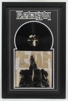 "Eddie Vedder Signed Pearl Jam ""Ten"" 21x32 Custom Framed Vinyl Record Display (JSA ALOA) (See Description) at PristineAuction.com"