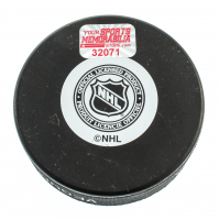 Rick Middleton Signed Bruins Logo Hockey Puck (YSMS COA) at PristineAuction.com