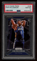 Zion Williamson 2019-20 Panini Prizm #248 RC (PSA 10) at PristineAuction.com