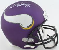 Kyle Rudolph Signed Vikings Full-Size Helmet (Beckett COA & TSE Hologram) at PristineAuction.com