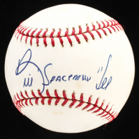 "Bill Lee Signed OML Baseball Inscribed ""Spaceman"" (YSMS Hologram) at PristineAuction.com"