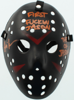 "Ari Lehman Signed ""Friday the 13th"" Mask Inscribed ""First F***** Jason!"" & ""The OG Jason!"" (JSA COA) at PristineAuction.com"